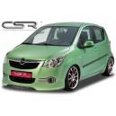 Opel Agila spoiler předního nárazníku