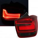 Zadní čirá světla BMW F20 / F21 LED LIGHT BAR červená/kouřová