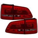Zadní čirá světla VW Touran 1T Facelift GP2 LED červená/kouřová