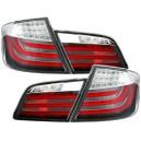 Zadní čirá světla BMW F10 LED LIGHT BAR červená
