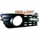 Audi A4 8E (00-04) světla pro denní svícení, chrom