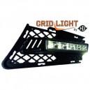 BMW E90/91 (05-08) světla pro denní svícení, chrom