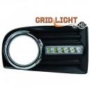 VW Golf 5 (03-08) světla pro denní svícení, chrom