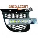 Hyundai Tucson (04-09) světla pro denní svícení, chrom