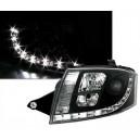 Přední světla DEVIL EYES Audi TT 98-05, černá