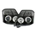 Čirá optika Citroen C2 03-10 černá