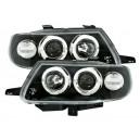 Přední čirá světla Citroen Saxo 96-03 černá