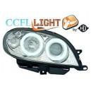 Přední světla Citroen Saxo 00-04 CCFL, chrom