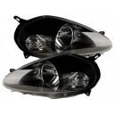 Přední světla Fiat Grande Punto 05-08 černá
