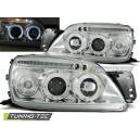 Přední čirá světla Ford Fiesta MK5 99-00 – chrom