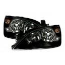 Přední čirá světla Ford Mondeo 00-07 – černá