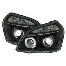 Přední čirá světla Hyundai Tucson 04-10 černá