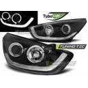Čirá optika Hyundai iX35 10-13 TUBE LIGHT černá