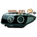 Přední světla DEVIL EYES BMW E87/81 04-09 černá, LED blinkr