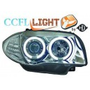 Čirá optika BMW E87/81 04-09 CCFL, chrom