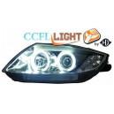 Čirá optika BMW Z4 02-08 CCFL, černá
