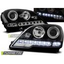 Čirá světla DEVIL EYES Mercedes Benz W164 ML 08-11 černá