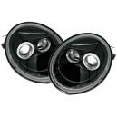 Přední čirá světla VW New Beetle 97-05 – černá