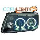 Čirá optika VW Bora 98-05 CCFL, černá