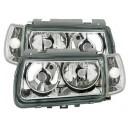 Čirá světla VW Polo 6N 95-98 – chrom
