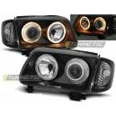 Čirá optika VW Polo 6N2 99-01 – černá