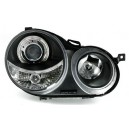 Čirá optika VW Polo 9N 02-04 – černá