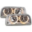 Přední čirá světla VW Vento 91-98 – chrom