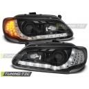 DEVIL EYES Renault Megane 3/5dv. 96-99 černá, LED blinkr