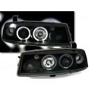 Přední čirá světla Opel Calibra 90-97 – černá