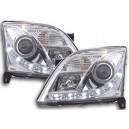 Přední světla DEVIL EYES Opel Signum 03-05 – chrom