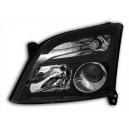 Přední čirá světla Opel Signum 03-05 – černá