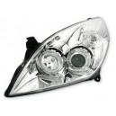 Přední čirá světla Opel Signum 06-08 – chrom