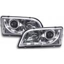 Přední čirá světla DEVIL EYES Volvo S/V40 96-03, chrom