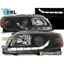 Čirá optika Volvo S60 V70 00-04 s denním svícením, černá