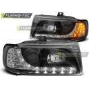 Čirá světla DEVIL EYES Seat Ibiza 6K 93-00 černá, LED blinkr
