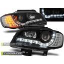 Přední světla DEVIL EYES Seat Ibiza 6K2 99-02 černá, LED blinkr