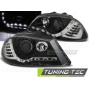 DEVIL EYES Seat Ibiza 6L 03-08 chrom, LED blinkr