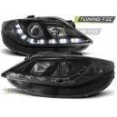 Čirá optika DEVIL EYES Seat Ibiza 6J 08-12, černá