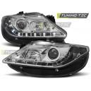 Přední světla D-LITE Seat Ibiza 6J 08-12, chrom