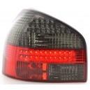 Čirá světla Audi A3 8L 96-03 LED, červená/kouřová