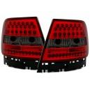 Zadní světla Audi A4 B5 95-01 LED, červená/kouřová