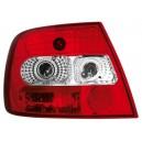 Zadní světla Audi A4 B5 95-01 Lim. - červená/krystal