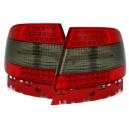 Čirá světla Audi A4 B5 95-01 LED, červená/kouřová