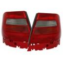 Zadní čirá světla Audi A4 B5 95-01 červená/bílá