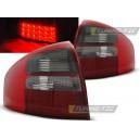 Čirá světla Audi A6 97-04 - LED, červená/kouřová