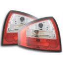 Zadní čirá světla Audi A6 97-04 – červená/krystal