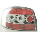 Čirá světla Audi A3 8P 03-09 – chrom