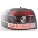 Čirá světla Audi A3 8P 03-09 – LED, černá