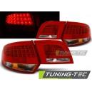Čirá světla Audi A3 8PA Sportback 04-08 – LED, červená/krystal