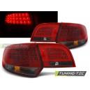 Zadní světla Audi A3 8PA Sportback 04-08 – LED, červená/kouřová